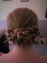 Braided Bridal Hair Up