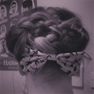 Braided Hair Up - UnderCut