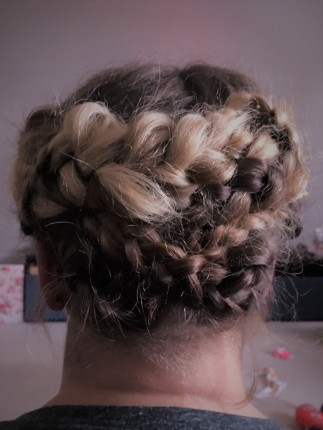 Braided Hair Up