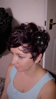 Bridesmaid Short Hair