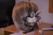 Mother of the Bride Side Bun