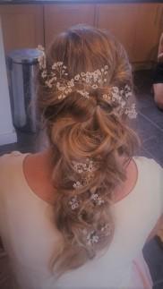 Waterfall Bridal Hair