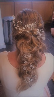 Waterfall Bridal Hair